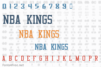 NBA Kings Font