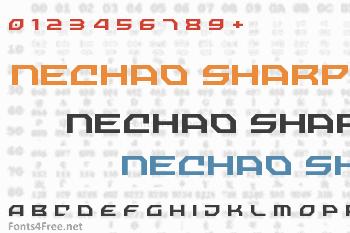 Nechao Sharp Font