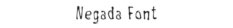 Negada Font Preview