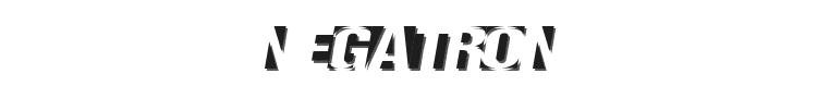 Negatron Font Preview