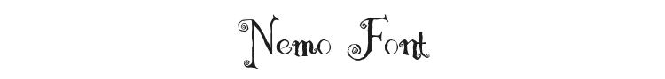 Nemo Font Preview