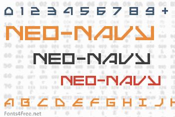 Neo-Navy Font