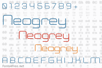 Neogrey Font