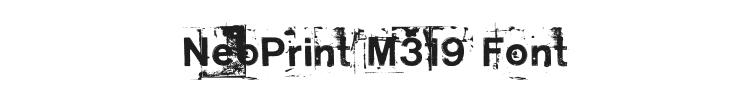 NeoPrint M319