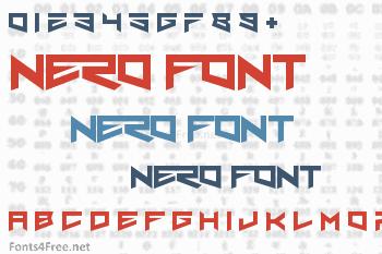 Nero Font