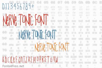 Nerve Tonic Font