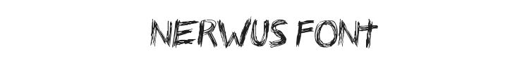 Nerwus Font Preview