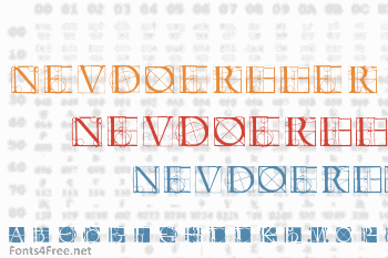Neudoerffer Scribble Quality Font