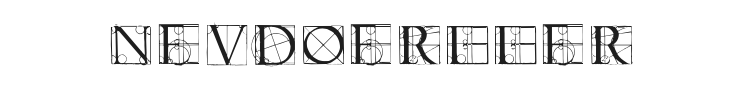 Neudoerffer Scribble Quality Font Preview