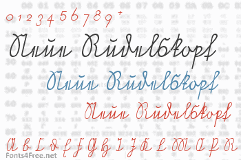 Neue Rudelskopf Font