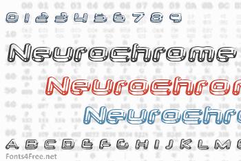 Neurochrome Font