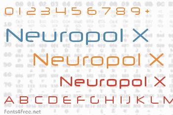Neuropol X Font