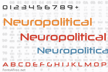 Neuropolitical Font