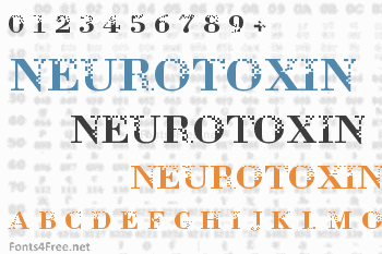 Neurotoxin Font