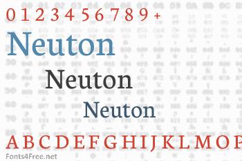 Neuton Font