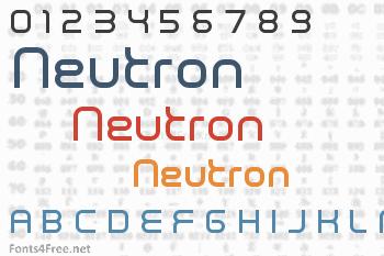 Neutron Font