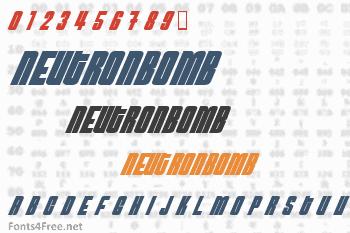 NeutronBomb Font