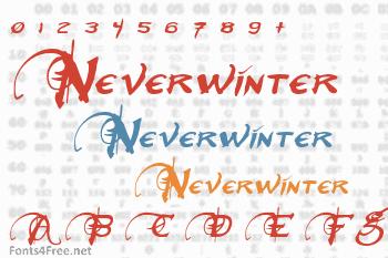 Neverwinter Font