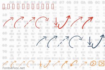New Arrows Font