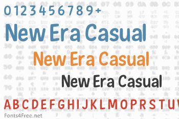 New Era Casual Font