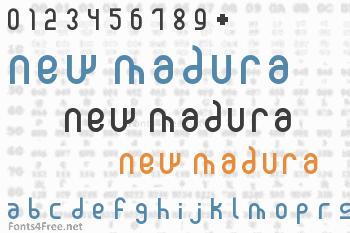 New Madura Font