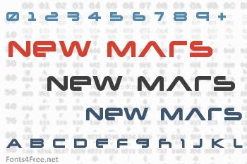 New Mars Font