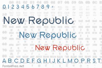 New Republic Font