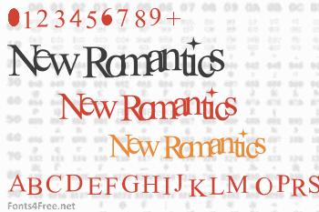 New Romantics Font