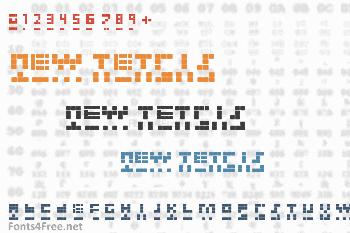 New Tetris Font