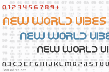 New World Vibes Font