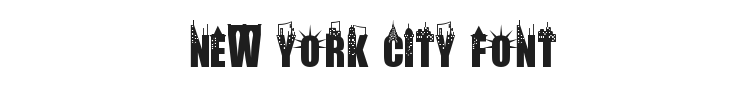 New York City Font