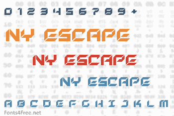 New York Escape Font
