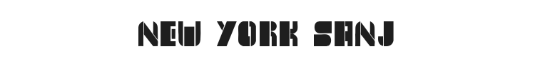 New York Sanj Font Preview