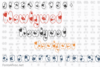 Newlywed Font