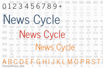 News Cycle Font