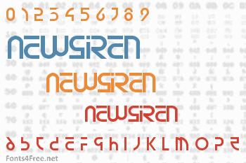 Newsiren Font