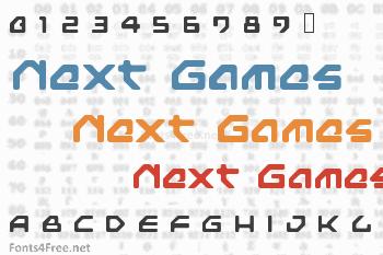Next Games Font