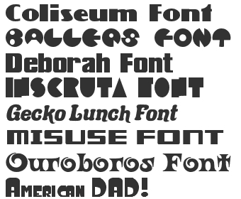 Groovy Fonts Download Top 40 Fonts4free