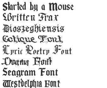 Medieval Fonts Download - Top 40 | Fonts4Free