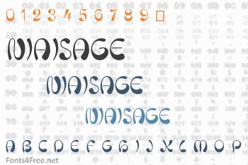 Niaisage Font