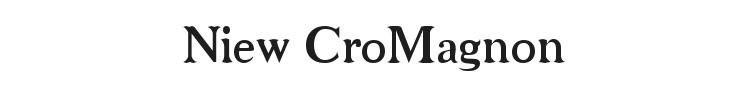 Niew CroMagnon Font