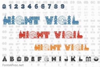 Night Vigil Font