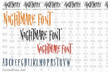 Nightmare Font