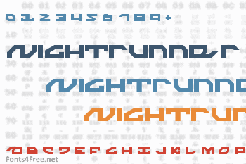 Nightrunner Font