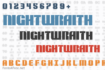 Nightwraith Font