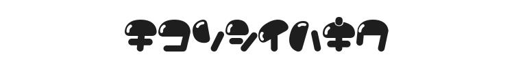Nikukyu Font Preview