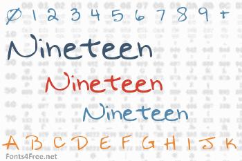 Nineteen Font