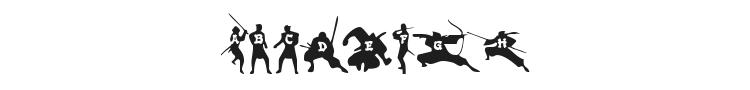 Ninjas Font Preview