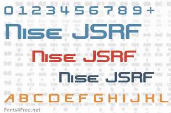 Nise JSRF Font