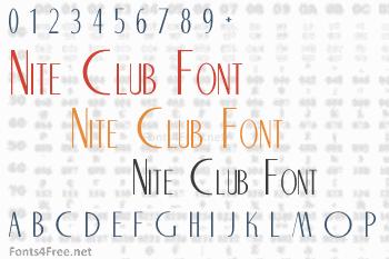 Nite Club Font